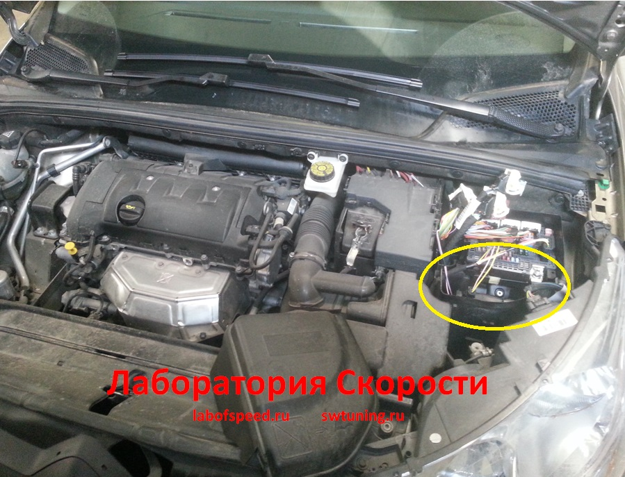 Ситроен с4 фото двигателя