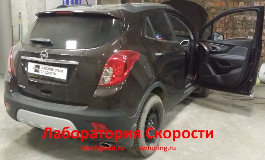Чип-тюнинг Opel Mokka