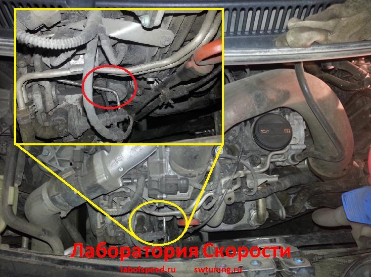 клапан егр фольксваген транспортер т5